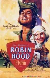 """""""Adventures of Robin Hood""""Poster1938 Warner Brothers**I.V. - Image 8992_0005"""
