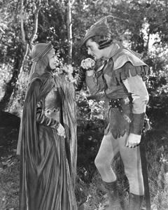 """""""The Adventures of Robin Hood""""Errol Flynn & Olivia De Havilland1938 Warner Bros.**I.V. - Image 8992_0010"""