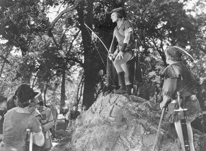 """""""The Adventures of Robin Hood""""Errol Flynn,  Alan Hale, & Eugene Pallette 1938 Warner Bros.**I.V. - Image 8992_0011"""