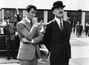 """""""Arrivederci, Baby!"""" (aka """"Drop Dead Darling"""")Tony Curtis, Lionel Jeffries1966 Paramount Pictures - Image 9000_0007"""