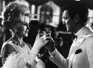 """""""Arrivederci, Baby!""""Zsa Zsa Gabor, Tony Curtis1966 Paramount Pictures - Image 9000_0008"""
