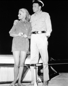 """Assault on a Queen""Virna Lisi, Frank Sinatra1966 Paramount - Image 9005_0013"