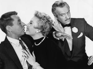 """""""The Birds and the Bees""""David Niven, George Gobel, Mitzi Gaynor1956 Paramount Pictures - Image 9010_0025"""