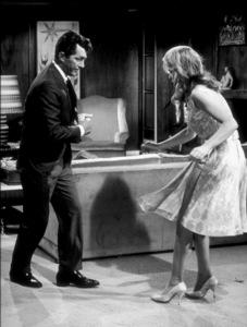 """Whose Been Sleeping In My Bed,""Dean Martin & Elizabeth Montgomery.1963 Paramount - Image 9038_0012"
