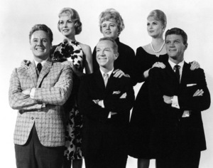 V. Johnson, J. Leigh, Ray Walston, S. Winters, J. Slate,M. Hyer.  Wives And Lovers (1963)0057688Paramount - Image 9042_0008