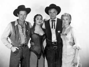 """High Noon""Llyod Bridges, Katy Jurado, Gary Cooper & Grace Kelly1952 Universal**I.V. - Image 9050_0008"
