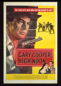 """""""High Noon""""Poster1952 Stanley Kramer Productions**I.V. - Image 9050_0019"""