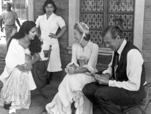 """High Noon""Katy Jurado, Gary Cooper & Grace Kelly1952 Universal**I.V. - Image 9050_0022"
