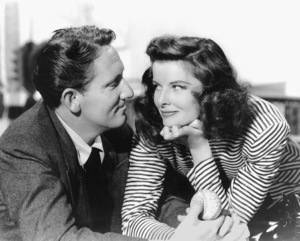 """""""Woman Of The Year""""Spencer Tracy, Katharine Hepburn1942 MGMPhoto By Clarence S. Bull**I.V. - Image 9071_0003"""