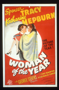 """""""Woman of the Year""""Poster1942 MGM**I.V. - Image 9071_0005"""