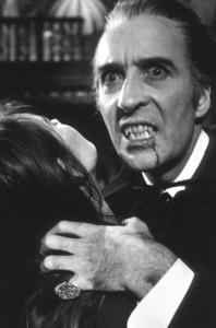 """Dracula A.D. 1972"" Christopher Lee; Stephanie Beacham1972 Hammer/ Warner - Image 9107_1"