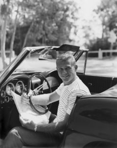 """""""Route 66""""Martin Milner with a 1963 Corvette 1963Photo by Gabi Rona - Image 9108_0005"""