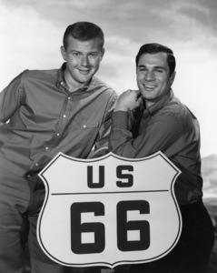 """Route 66"" Martin Milner, George Maharis 1960 Photo by Gabi Rona - Image 9108_0013"