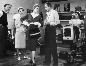 """""""Funny Face""""Paul Smith, Ruta Lee, Kay Thompson, Fred Astaire, Heather Hopper, Sue England1956 Paramount - Image 9111_0036"""
