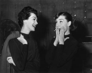 """""""Funny Face""""Audrey Hepburn, Dovima1956 Paramount - Image 9111_0059"""