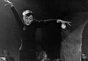 """Funny Face""Audrey Hepburn 1956 Paramount © 1978 Bill Avery - Image 9111_0343"