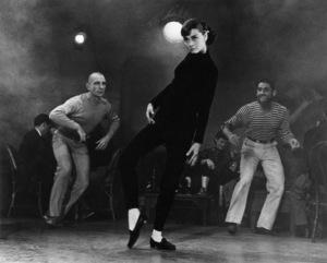 """Funny Face""Audrey Hepburn1956 Paramount© 1978 Bill Avery - Image 9111_0353"