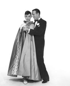 """Funny Face"" Audrey Hepburn, Fred Astaire1956 Paramount **I.V. - Image 9111_0373"
