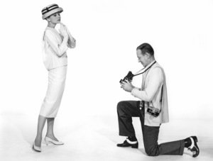 """Funny Face"" Audrey Hepburn, Fred Astaire 1956 Paramount **I.V. - Image 9111_0400"