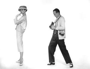 """Funny Face"" Audrey Hepburn, Fred Astaire 1956 Paramount **I.V. - Image 9111_0402"