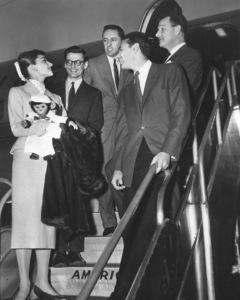 """Funny Face"" Audrey Hepburn, Richard Avedon, Leonard Gershe, Stanley Donen, Roger Edens 1956 Paramount **I.V. - Image 9111_0407"