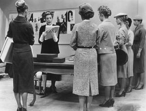 """Funny Face""Kay Thompson (Behind Desk)1956 Paramount - Image 9111_0408"