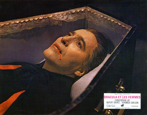 """Dracula Has Risen from the Grave"" (Lobby Card)Christopher Lee1968 Warner Brothers** I.V. - Image 9128_0006"