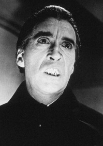 """""""Dracula Has Risen From The Grave""""Christopher Lee1968 Warner Bros. - Image 9128_1"""