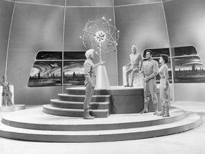 """This Island Earth""Lance Fuller, Jeff Morrow, Rex Reason,&Faith Domergue1955 Universal  - Image 9130_0003"
