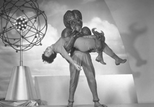 """""""This Island Earth""""Alien With Faith Domergue1955 Universal International - Image 9130_1"""