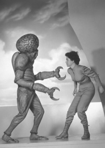 """""""This Island Earth"""" Alien With Faith Domergue1955 Universal International - Image 9130_2"""