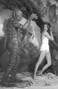 """""""Creature From the Black Lagoon""""Ricou Browning, Julie Adams,1954 United International - Image 9132_1"""