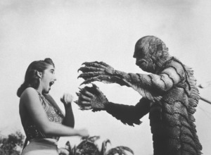 """Creature From the Black Lagoon""Julie Adams, Ricou Browning 1954 United International - Image 9132_4"