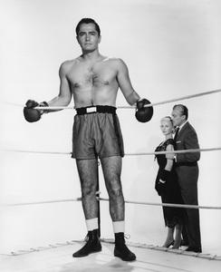 """The Leather Saint""John Derek, Jody Lawrance, Cesar Romero1956 Paramount - Image 9134_0007"