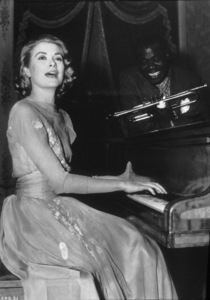 """""""High Society"""" Grace Kelly and Louis Armstrong1956 MGM**I.V. - Image 9137_0017"""