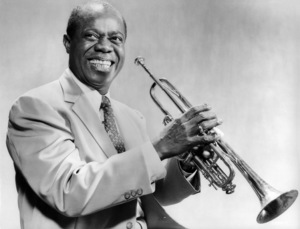 """Louis Armstrong in """"High Society""""1956 MGM** I.V. - Image 9137_0019"""