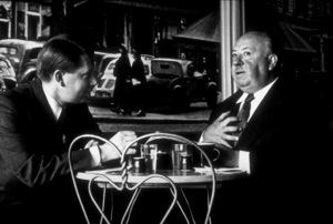 """Dial M For Murder,""Director Alfred Hitchcock.1954 Warner Bros. © 1978 Sanford Roth/AMPAS - Image 9138_0032"