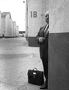 Alfred Hitchcockcirca 1954 © 1978 Sanford Roth / AMPAS - Image 9138_0045