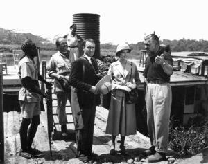Philip Stainton, Donald Sinden, Grace Kelly, Clark GableMogambo (1953) 0044706 - Image 9140_0001