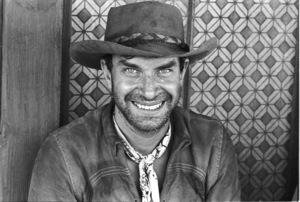 """""""Nevada Smith"""" Martin Landau on the set, 1965 © 1978 Chester Maydole - Image 9149_0010"""
