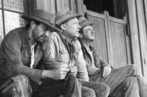 """Nevada Smith""Martin Landau, Arthur Kennedy, Karl Malden, 1965 © 1978 Chester Maydole - Image 9149_0011"
