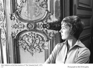"Julie Andrews on the Paris location for ""The Tamarind Seed"" 1973 © 1978 Bob Willoughby - Image 9174_0026"
