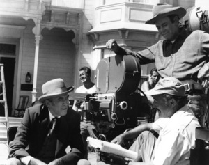 """The Cheyenne Social Club""James Stewart, director Gene Kelly, Henry Fonda1970 National General Pictures - Image 9177_0001"