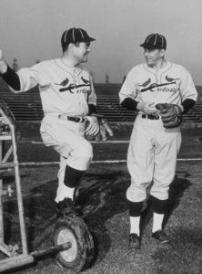 """The Winning Team""Ronald Reagan, Frank Lovejoy1952 Warner Bros. © 1978 Mac JulianMPTV - Image 9209_0003"