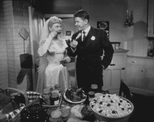 """The Winning Team""Ronald Reagan, Doris Day1952 Warner Bros. © 1978 Mac JulianMPTV - Image 9209_0005"