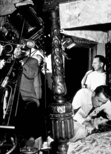 """The Two Mrs. Carrolls""Humphrey Bogart and Barbara Stanwyck1945 Warner Bros.Photo by Milton GoldMPTV - Image 9212_0002"