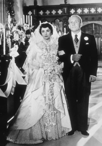 """""""Father of the Bride""""Spencer Tracy and Elizabeth Taylor1950 MGM**R.C.MPTV - Image 9235_0003"""
