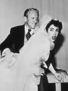 """""""Father of the Bride""""Spencer Tracy and Elizabeth Taylor1950 MGM**R.C.MPTV - Image 9235_0007"""