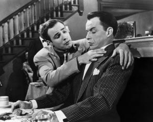 """Guys And Dolls"" Marlon Brando, Frank Sinatra 1955 Goldwyn Photo by Al St. Hilaire - Image 9244_0014"