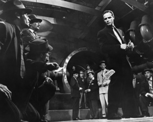 """""""Guys and Dolls""""(Background) Frank Sinatra & Marlon Brando1955 MGM**I.V. - Image 9244_0059"""